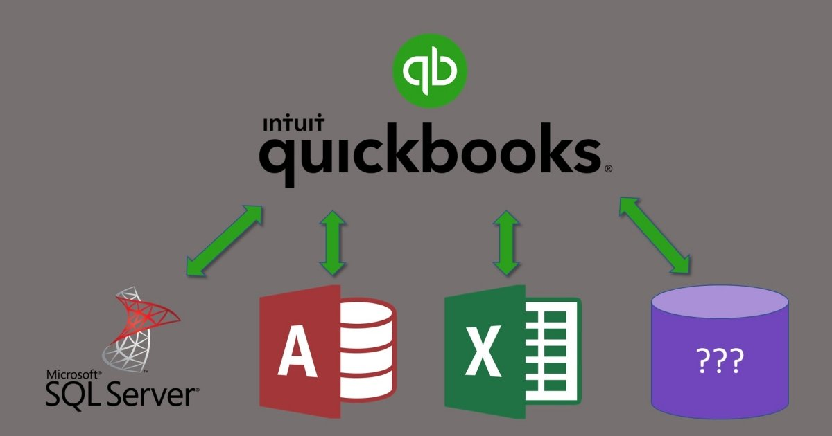 Connecting Microsoft Access, SQL, and other VBA to Quickbooks