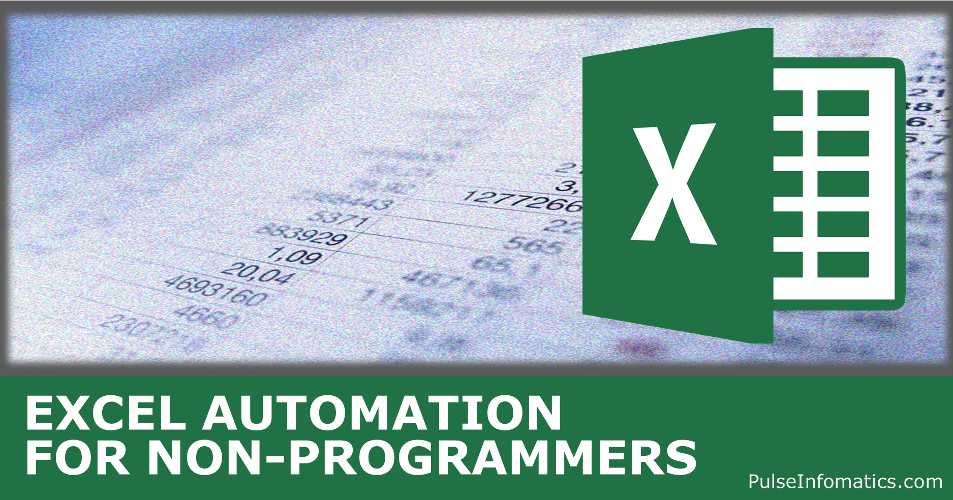 Learn how to automate using Visual-basic for Applications
